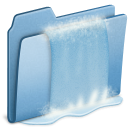 Blue-Waterfall icon