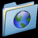 Blue-Web-alt icon