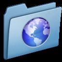 Blue-Web icon
