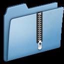 Blue-Zip icon