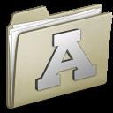 Lightbrown-Font icon