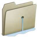 Lightbrown-Water-leak icon