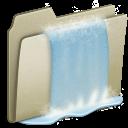 Lightbrown-Waterfall icon
