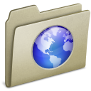 Lightbrown-Web icon