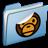 Blue-Sticker-MILO icon