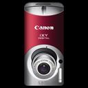 Canon-IXY-DIGITAL-L3-red icon