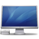 Cinema-Display-Macmini-blue icon