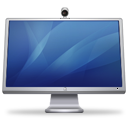 Cinema-Display-iSight-blue icon