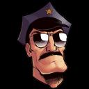 斧警官の頭のアイコン みけいかんのあたまのあいこん Ico Png Icns 無料のアイコンをダウンロード