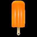 Ice-cream-orange icon