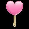 Ice-cream-heart icon