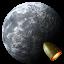 Rocket-Moon icon
