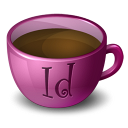 Coffee-InDesign icon