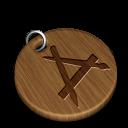 Woody-art icon
