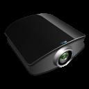Projector-black icon
