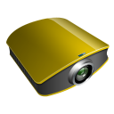 Projector-gold icon