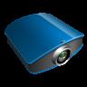 Projector-blue icon