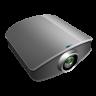 Projector-silver icon