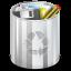Status-user-trash-full icon