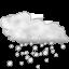 Status-weather-hail icon