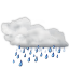 Status-weather-showers icon