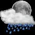 Status-weather-showers-night icon