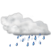 Status-weather-showers-scattered icon