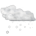 Status-weather-snow-scattered icon