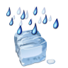 Status-weather-freezing-rain icon