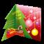 Christmas-card icon