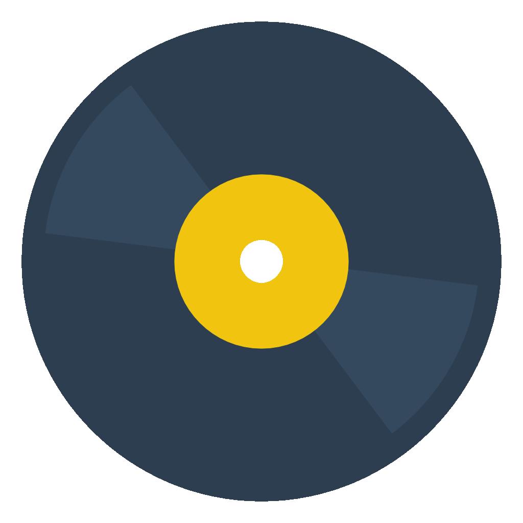Disco De Vinil 237 Cone Ico Png Icns 205 Cones Download