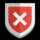 Shield-error icon