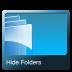 Hide-folders icon