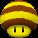 Mushroom-Bee icon