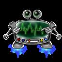 Robot-screen-settings icon