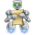 Robot-documents icon