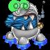 Robot-trash-full icon