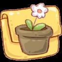 Hp-folder-flowerpot icon