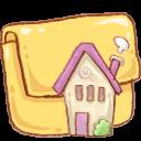 Hp-folder-home icon