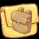 Hp-folder-schoolbag icon
