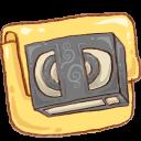 Hp-folder-video icon
