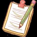 Hp-notepad2-pencil icon