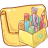 Hp-folder-application icon