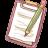 Hp-notepad-pencil icon