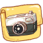 Hp-folder-camera-photo icon