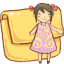 Hp-folder-girl icon