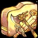 Folder-swordaxe icon