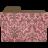 Folder-damask-rosey icon