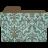 Folder-damask-turquoisey icon