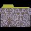 Folder-damask-hyacinth icon
